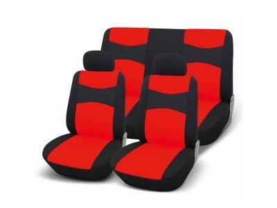 Sedežna prevleka SPEED UP2, rdeča / črna