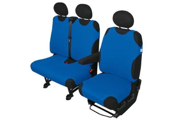 Sedežna prevleka Van delivery 1+2 kosa, modra