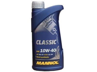 Semi sintetično olje Mannol, 10W40