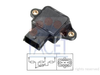 Senzor položaja dušilne lopute Honda Accord 96-02