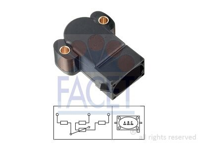 Senzor položaja dušilne lopute Mazda 121 96-03