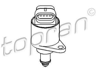 Senzor, regulator prostega teka 721463756 - Peugeot 206 98-