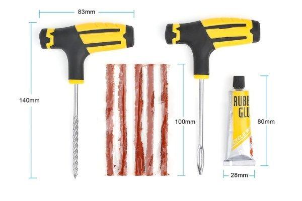 Set alata za popravak guma - Visbella