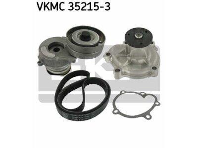 Set mikro remena + vodena pumpa 283974 - Opel