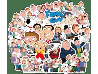 Set naljepnica  Zabavne obitelji -100 komada- Super kvliteta ,Besplatna dostava