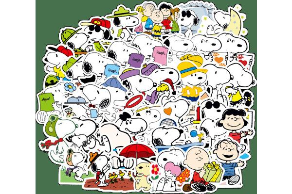 Set naljepnica Zabavnih  crtanih heroja -100 komada - Super kvliteta, Besplatna dostava