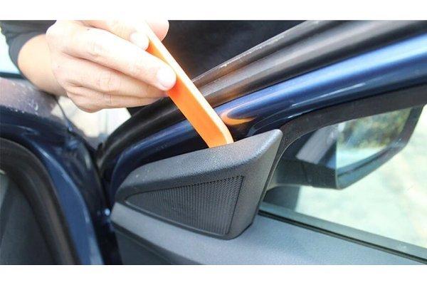 Set orodij in plastik za demontažo notranjih delov v avtomobilu - Silux Parts (12 kosov)