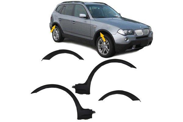 Set PVC obrov BMW X3 E83 04-10