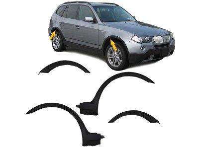 Set PVC rubnjaka BMW X3 E83 04-10