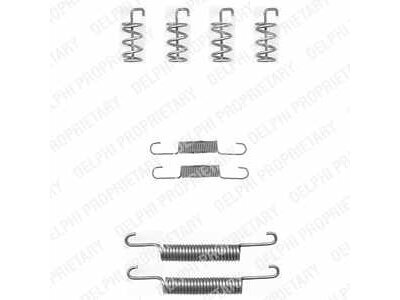 Set za obnovu kočionih čeljusti LY1324 - Volvo S60 00-09