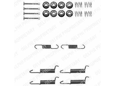Set za obnovu kočionih čeljusti Mitsubishi Pajero 82-06