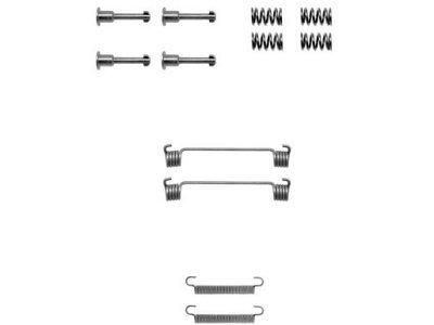 Set za obnovu kočionih čeljusti Peugeot 605 89-99