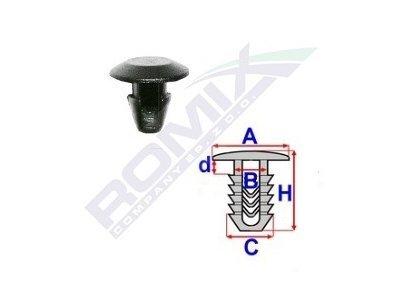 Set za pričvršćivane Alfa Romeo/Fiat/Lancia RX10093 25 komada