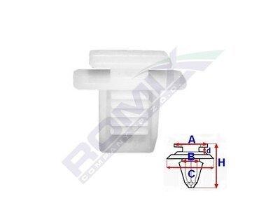 Set za pričvršćivane Alfa Romeo/Fiat/Lancia RX10148 10 komada