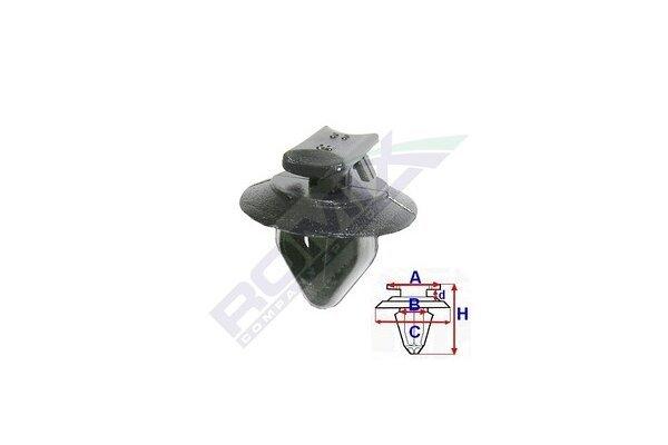 Set za pričvršćivane Fiat/Alfa Romeo/Lancia RX11025 25 komada