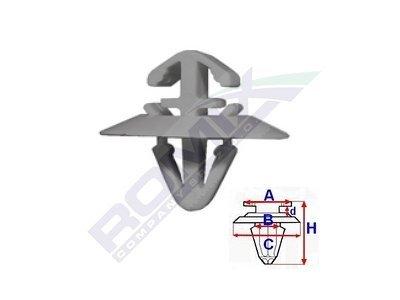 Set za pričvršćivane Iveco/Renault/Opel RX71187 10 komada