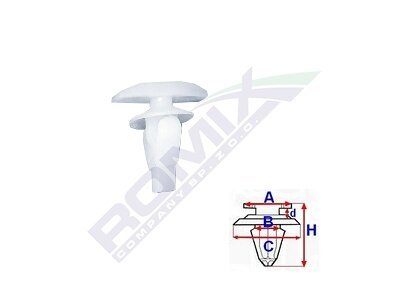 Set za pričvršćivane Lexus/Toyota RXC10070 10 komada