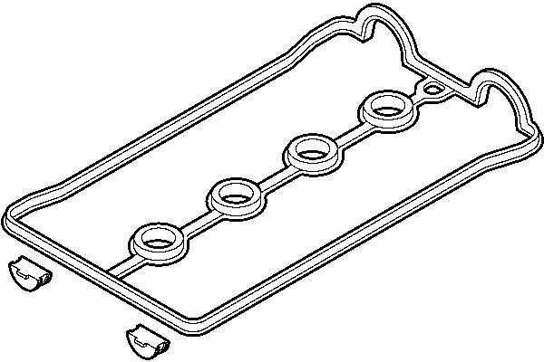 Set zaptivke poklopca ventila Daewoo Nubira 97-00