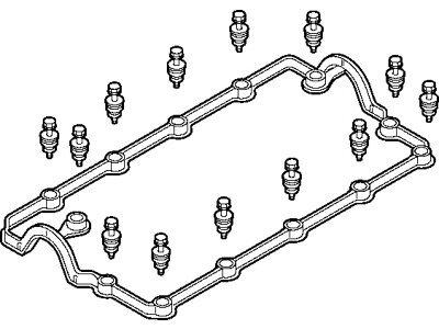 Set zaptivke poklopca ventila Volkswagen Sharan 02-10