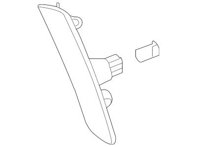 Signalno svjetlo Chevrolet Camaro 09-16, USA