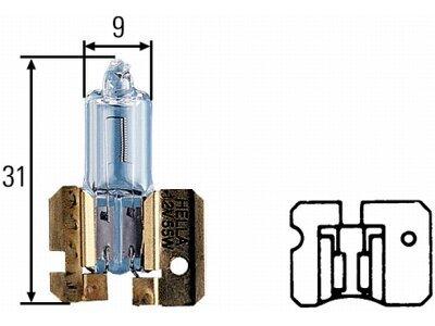 Sijalica H4 LED, 6000-6500K,25W, 2 komad a, CSP čipovi