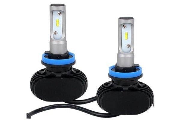 Sijalica H8 LED, 6000-6500K, 25W, CSP - Fanless, 2 komada