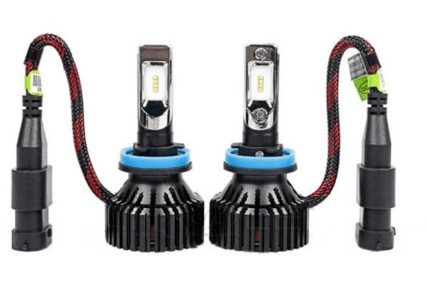 Sijalica H8 LED, 6500K, 60W, 9-32V, 2 komada, 8 LED, PREMIUM