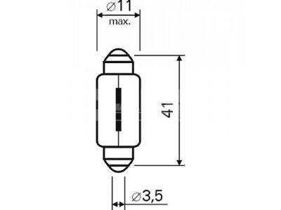 Sijalica Magneti Marelli C10W