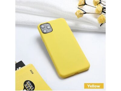 Silikonska futrola Silica Gel, etui, liquid silica gel, žuta
