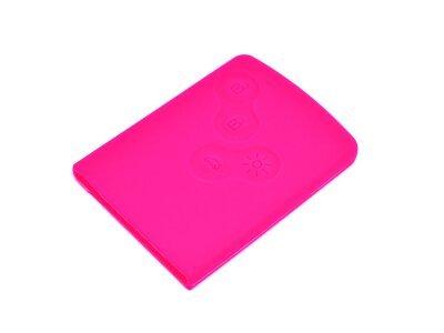 Silikonska zaščita za avto ključ SEL042-5 - Renault, roza