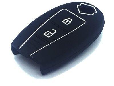 Silikonska zaščita za avto ključ SEL172 - Suzuki, črna