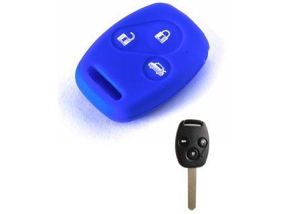 Silikonska zaščita za avto ključ SELM146 - Honda, modra