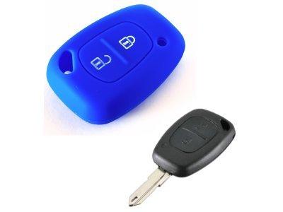 Silikonska zaščita za avto ključ SELM158  - Nissan, modra