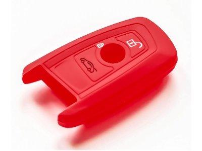 Silikonska zaščita za avto ključ SELR009 - BMW, rdeča