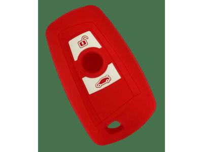 Silikonska zaščita za avto ključ SELR143-2 - BMW, rdeča