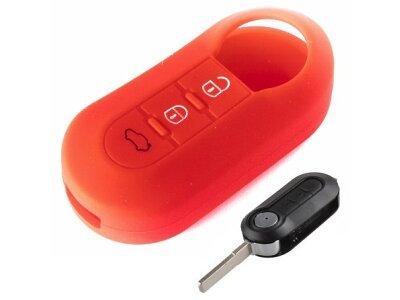 Silikonska zaštita ključeva SEL014 - Lancia, crvena