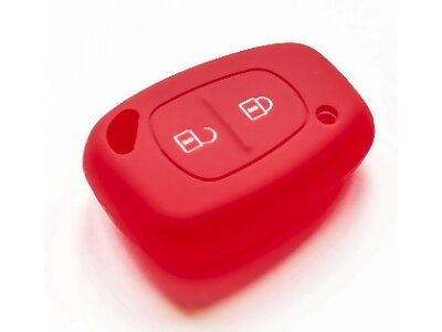 Silikonska zaštita ključeva SEL035 - Renault, crvena