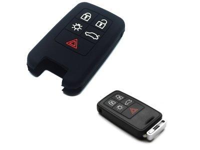 Silikonska zaštita ključeva SEL175 - Volvo, crna