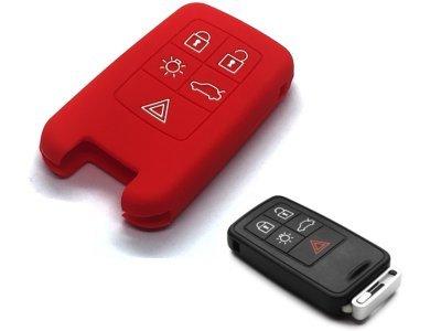 Silikonska zaštita ključeva SEL175 - Volvo, crvena