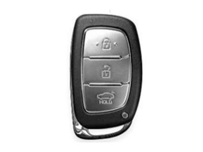 Silikonska zaštita za auto ključ SEL004 - Hyundai, crvena