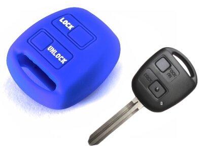 Silikonska zaštita za auto ključ SEL022 - Lexus, plava