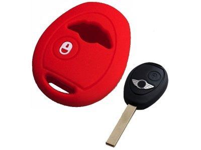 Silikonska zaštita za auto ključ SEL150 - Mini, crvena