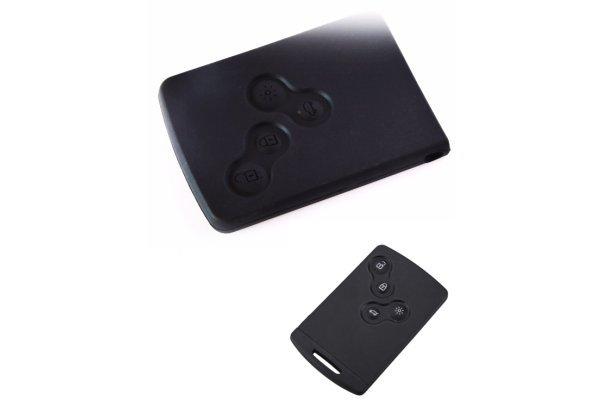Silikonska zaštita za auto ključ SEL168 - Renault, crna