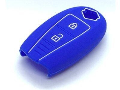 Silikonska zaštita za auto ključ SEL172 - Suzuki, plava