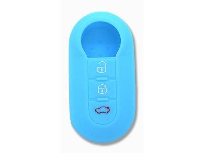 Silikonska zaštita za auto ključ SELMO14 - Peugeot, svetlo plava