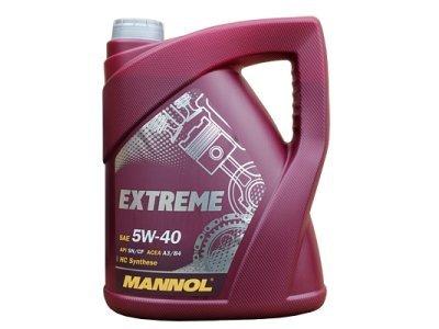 Sintetičko ulje Mannol Extreme, 5W40, 5L (135499)