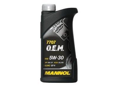 Sintetičko ulje O.E.M. 5W30 Mannol, 1L