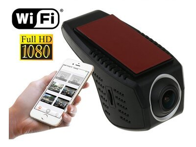 Snemalnik poti Media-tech Dashcam FullHD 1080P, WIFI MT 4060