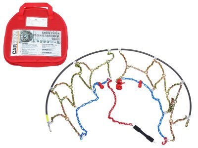 Snežne verige 135/80-15, 9mm, Certifikacija Önorm V 5117 + Torba za shranjevanjem + rokavice