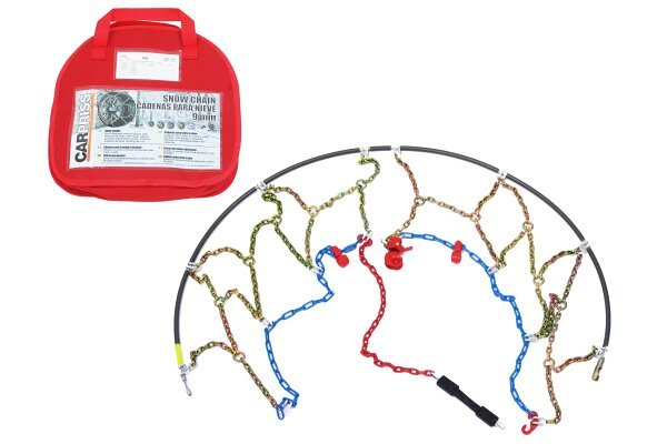 Snežne verige 205/70-13, 9mm, Certifikacija Önorm V 5117 + Torba za shranjevanjem + rokavice